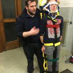 Rettungsdienstschulung beim Löschzug 1