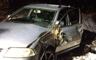 Schwerer Verkehrsunfall in Hunswinkel