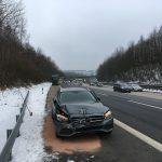 Frau in Lebensgefahr nach Unfall auf der A45