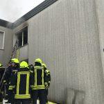 F1 - Rauchentwicklung aus Gebäude