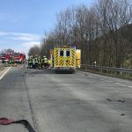 TH1 - Verkehrsunfall eingeklemmte Person