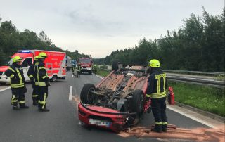 Schwerer Verkehrsunfall auf der BAB 45