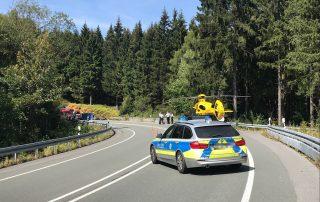 Schwerer Verkehrsunfall auf der Nordhelle