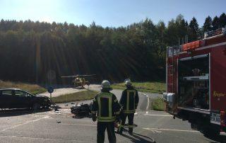 Erneut schwerer Motorrad-Verkehrsunfall in Valbert