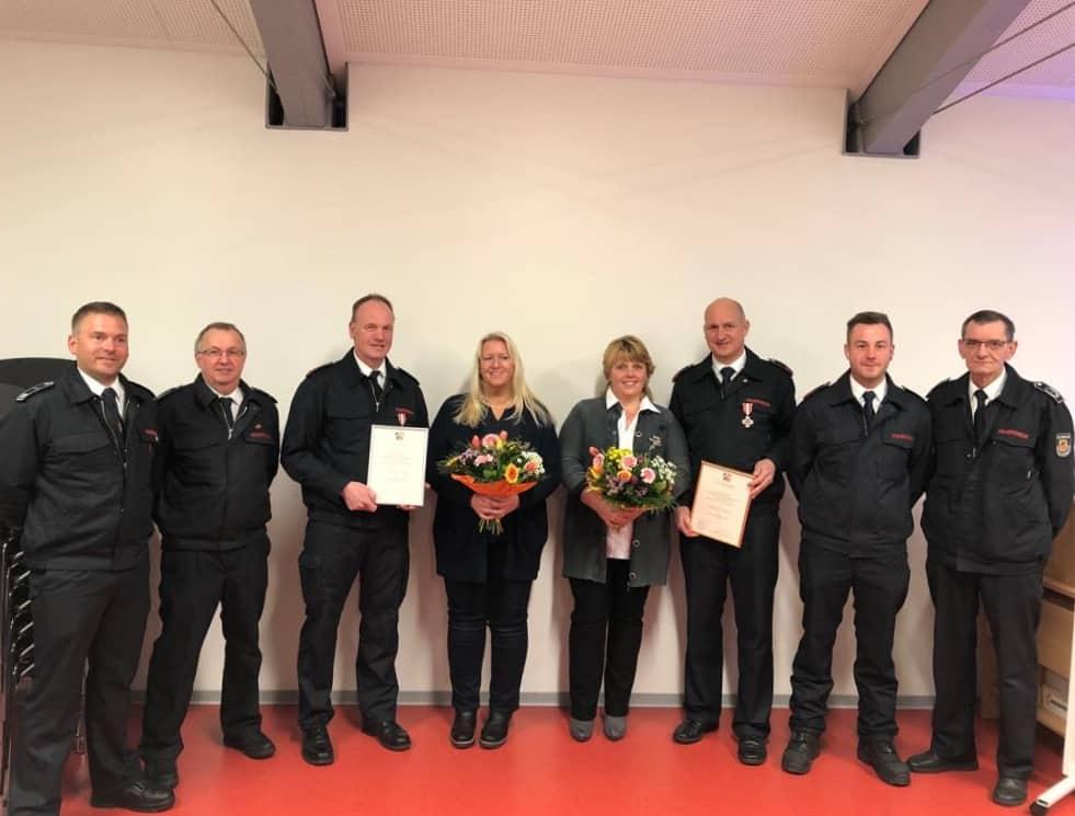 Jahresdienstbesprechung des LZ Valbert mit Auszeichnung verdienter Kameraden