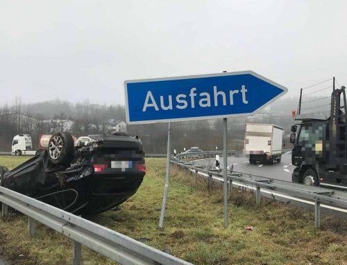 Verkehrsunfall auf der BAB45
