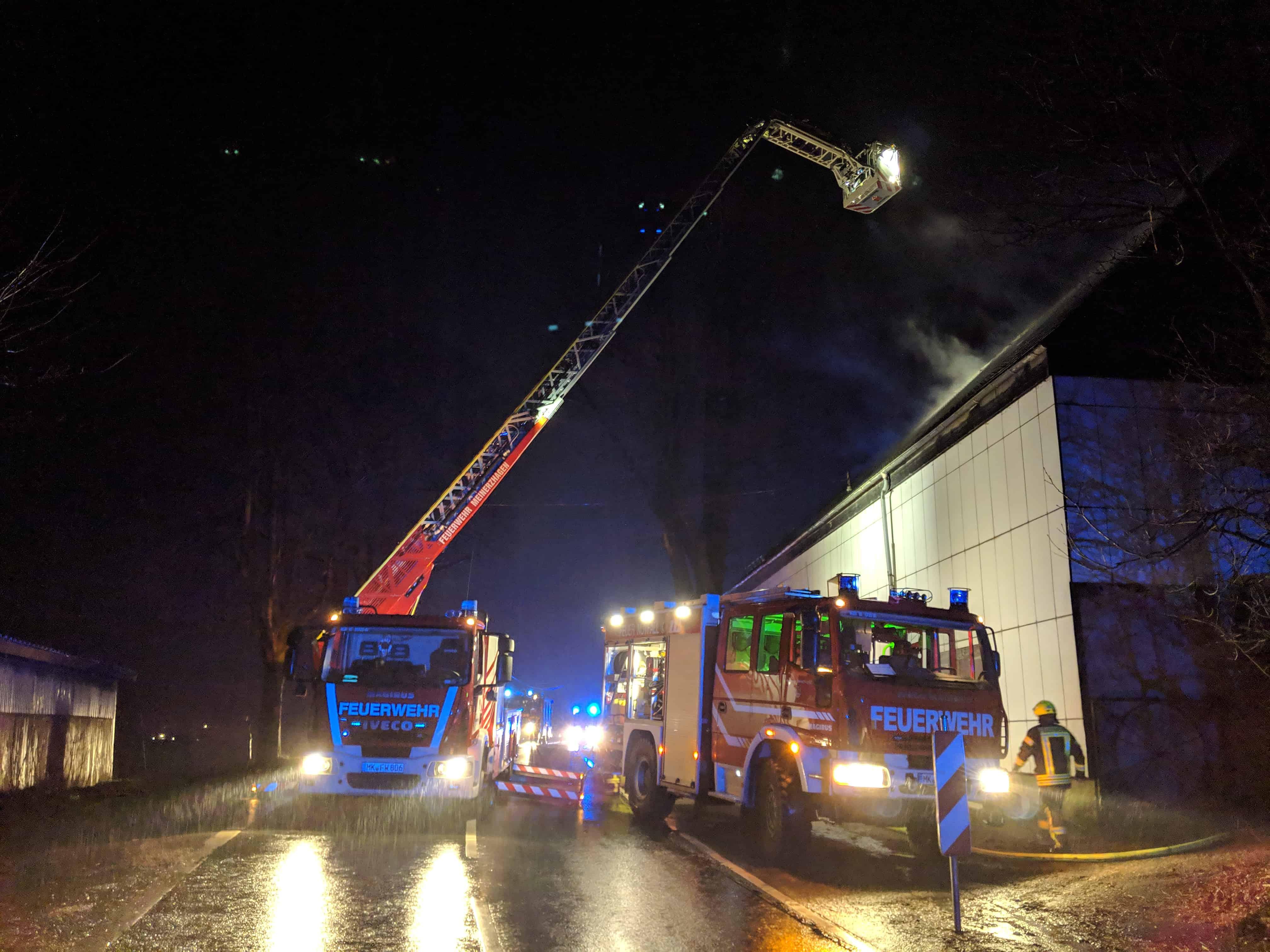 Brand in Scheune geht glimpflich aus