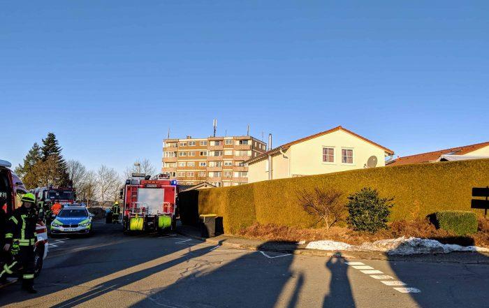 Vermeintlicher Brand im Hochhaus ruft Feuerwehr auf den Plan
