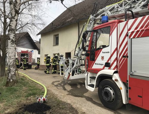 Kaminbrand in Herringhausen