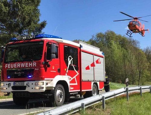 Zwei PKW kollidieren in Wiebche – Fahrer wird in seinem Wagen eingeklemmt