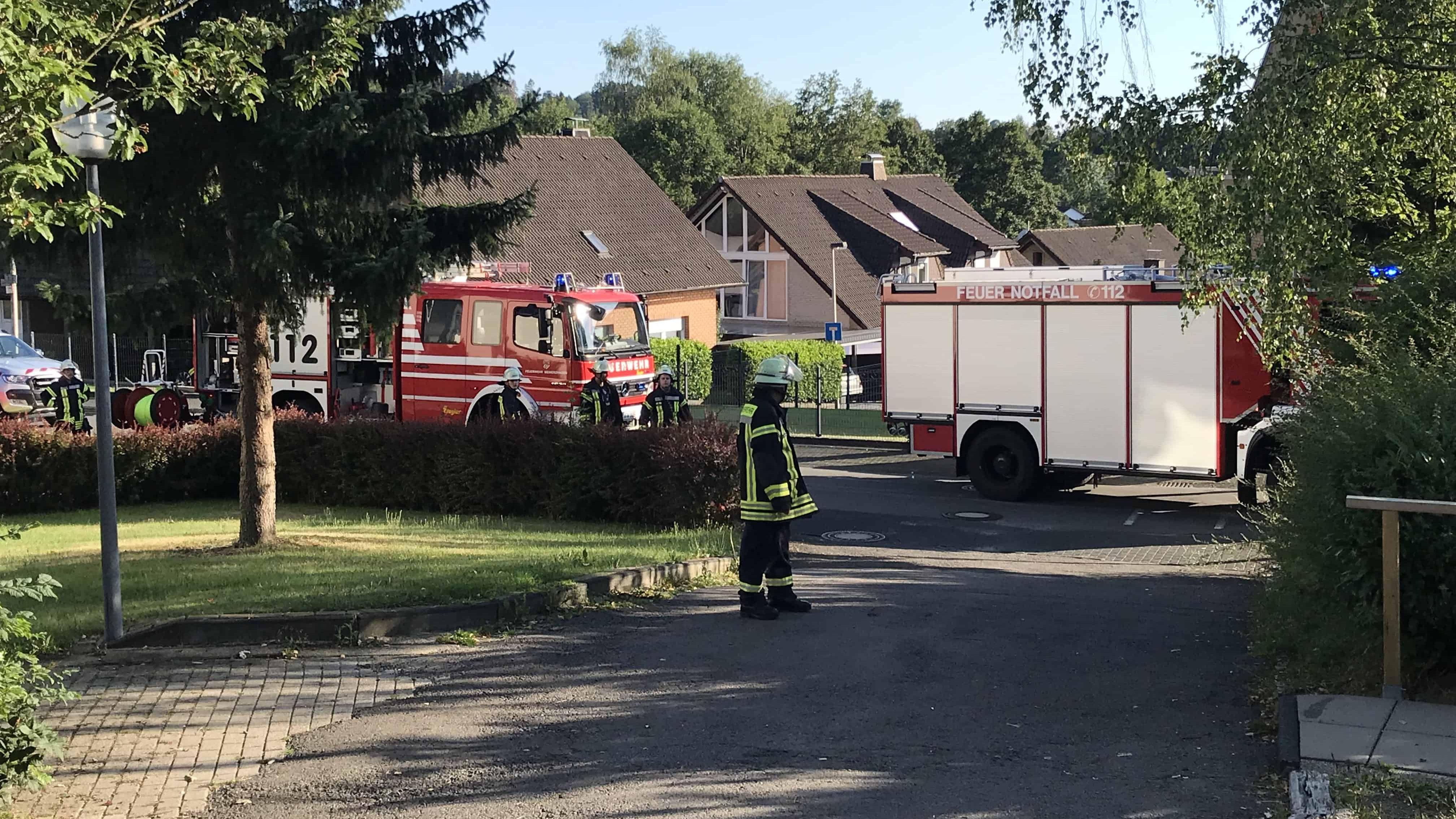 Vermeintlicher Gasgeruch ruft Feuerwehr auf den Plan
