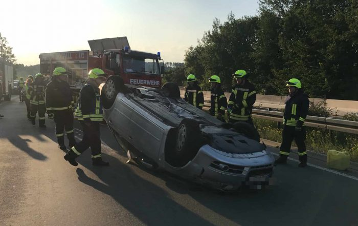 Verkehrsunfall auf der BAB