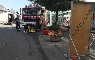 Feuerwehr Meinerzhagen präsentiert sich beim Stadtfest