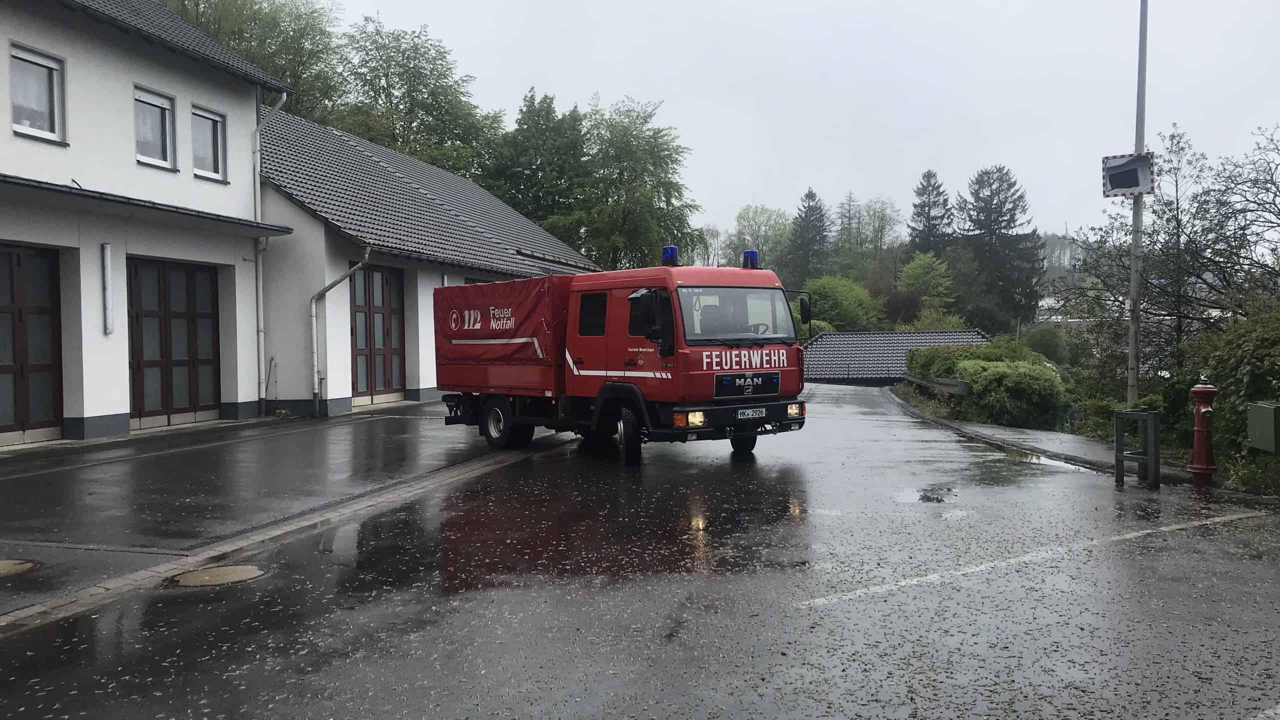 Feuerwehr Meinerzhagen unterstützt beim Kampf gegen das Corona-Virus