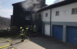 Garagenbrand im Siepener Weg