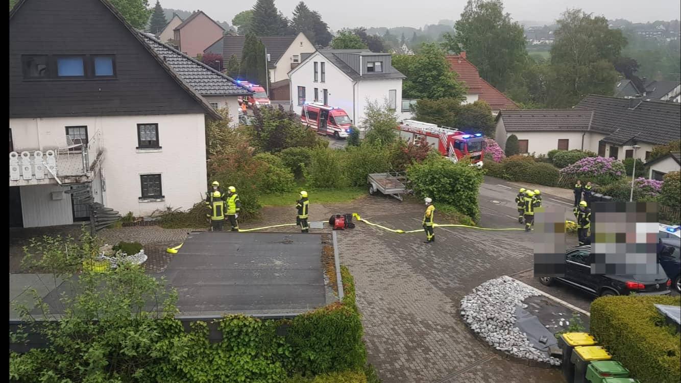 Gasalarm führt Feuerwehr in die Genkeler Str.