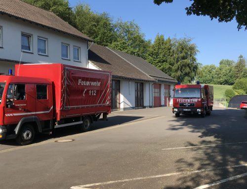 Wir für den MK – Feuerwehr unterstützt erneut bei der Verteilung von Schutzausrüstung