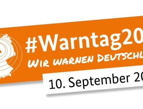 #WirWarnenDeutschland – bundesweiter Probealarm