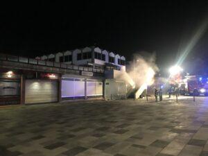 Brand im Gebäude – Tiefgarage Hauptstraße 1
