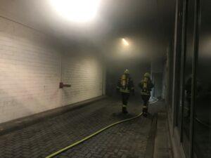 Brand im Gebäude – Tiefgarage Hauptstraße 2