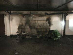 Brand im Gebäude – Tiefgarage Hauptstraße 3