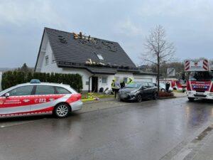 F1 – Blitzeinschlag Grünenbecker Weg 5