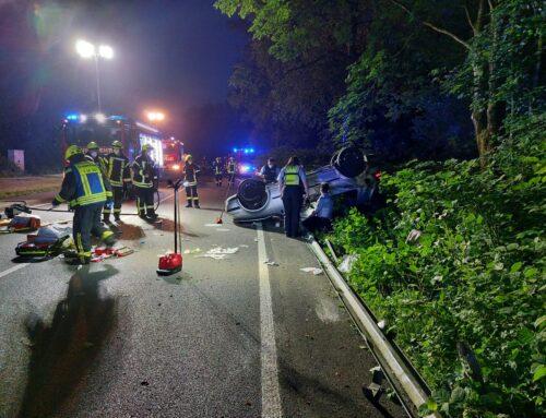 Schwerer Verkehrsunfall auf der Volmestraße